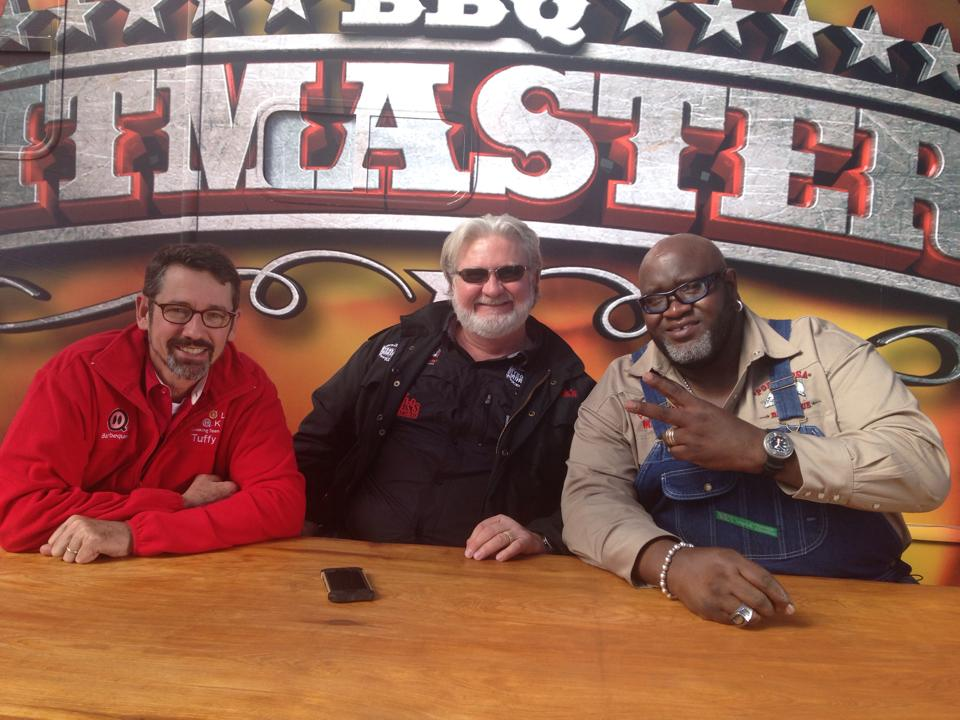 Big Moe Cason BBQ Pitmasters Judge