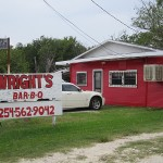 Wright's Bar-B-Q Mexia TX Front