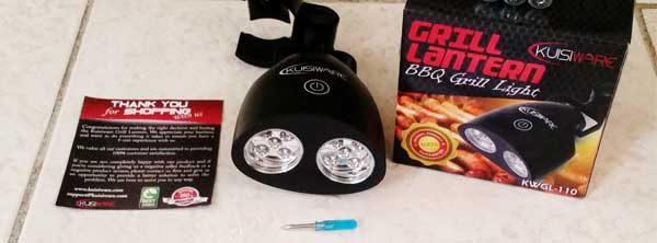 BBQ Grill Light Review