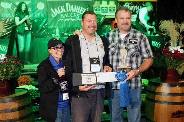 Perfect Score 1st Place Pork 2014 Jack Daniel's Invitational