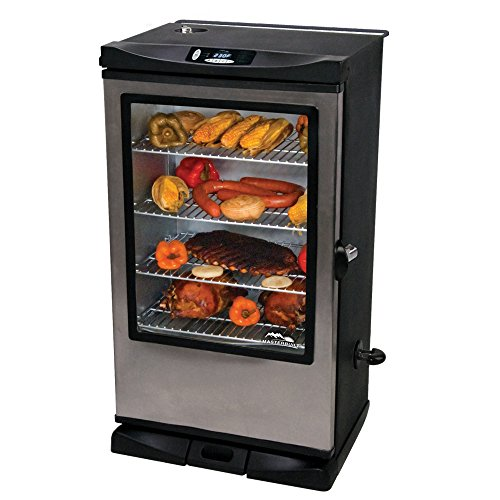 the 4 rack system for this smoker feature curved back ends on each rack that allow you to slide the racks out half way and are so they donu0027t tip